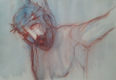 La pasión de Cristo III|DibujodeOliverPlehn-Artist| Compra arte en Flecha.es