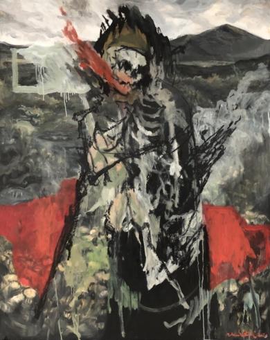 Pentimento - De rervm natvra|PinturadeNoël G. González-Vanderkrul| Compra arte en Flecha.es