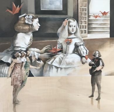 Pájaros de papel|CollagedeMenchu Uroz| Compra arte en Flecha.es