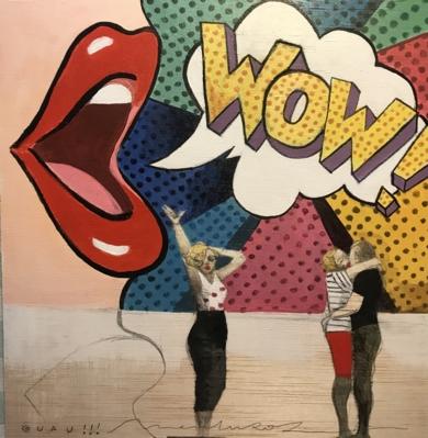 Grandes ideas I|CollagedeMenchu Uroz| Compra arte en Flecha.es