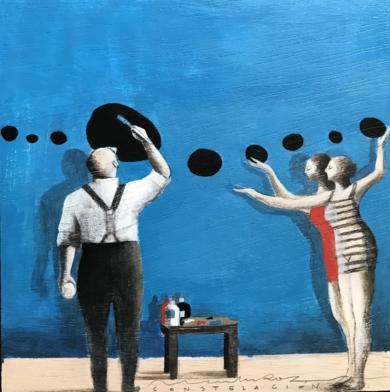 Grandes ideas III|CollagedeMenchu Uroz| Compra arte en Flecha.es