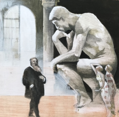 Grandes ideas IV|CollagedeMenchu Uroz| Compra arte en Flecha.es