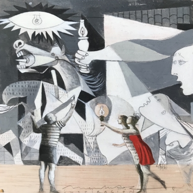 Grandes ideas VI|CollagedeMenchu Uroz| Compra arte en Flecha.es