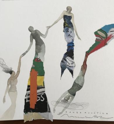 Sincronía I|CollagedeMenchu Uroz| Compra arte en Flecha.es