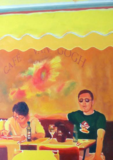 Arlés pareja 3|PinturadeJose Belloso| Compra arte en Flecha.es