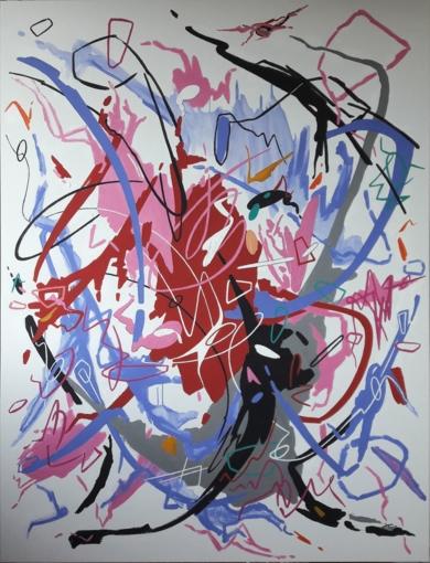 DANCE TO THE END OF LOVE  (II)|PinturadeValeriano Cortázar| Compra arte en Flecha.es