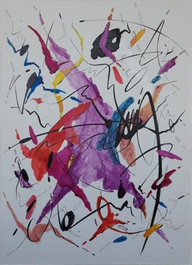 I'LL PLAY THE BLUES FOR YOU|PinturadeValeriano Cortázar| Compra arte en Flecha.es