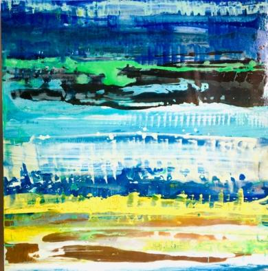 MARES 19|PinturadeErika Nolte| Compra arte en Flecha.es