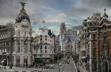 Escena 1 de Madrid|FotografíadeLeticia Felgueroso| Compra arte en Flecha.es