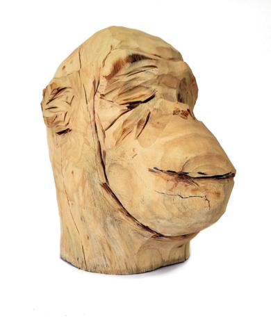 Mono 2|EsculturadeOlga Cáceres| Compra arte en Flecha.es