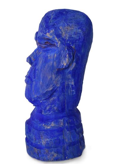 Hombre azul|EsculturadeOlga Cáceres| Compra arte en Flecha.es