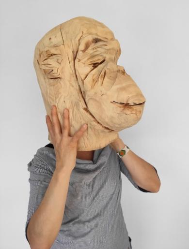 Escultura y fundamento humano (Mono 2)|FotografíadeOlga Cáceres| Compra arte en Flecha.es