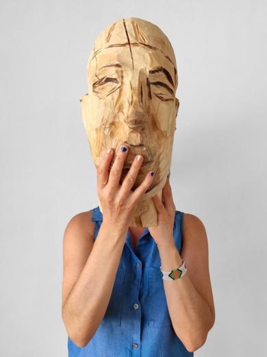 Escultura y fundamento humano (Mujer)|FotografíadeOlga Cáceres| Compra arte en Flecha.es