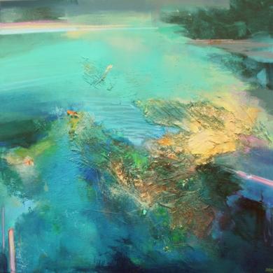 Thoughts and Currents|PinturadeMagdalena Morey| Compra arte en Flecha.es