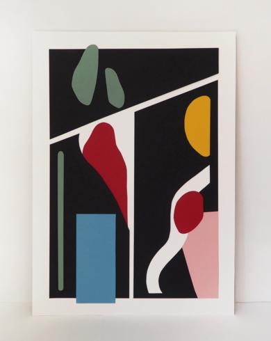 Composición deformada II|CollagedeNEKA| Compra arte en Flecha.es