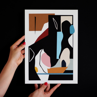 Especies de espacios, coordenada I|CollagedeNEKA| Compra arte en Flecha.es