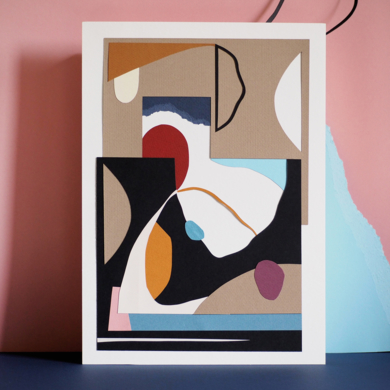 Especies de espacios, coordenada  II|CollagedeNEKA| Compra arte en Flecha.es