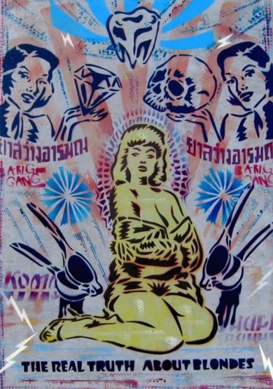 Blondes|PinturadeCarlos Madriz| Compra arte en Flecha.es