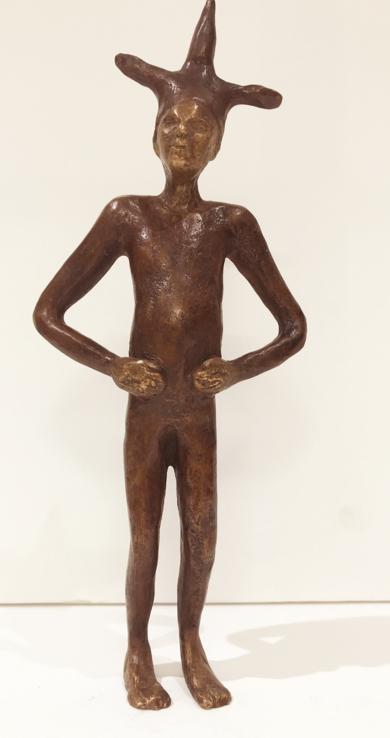 Saltimbanqui III|EsculturadeJenifer Carey| Compra arte en Flecha.es