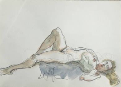 La Costilla de Adán|DibujodeJaelius Aguirre| Compra arte en Flecha.es
