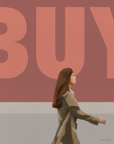 """Buy""|PinturadeDaniel Gibert| Compra arte en Flecha.es"