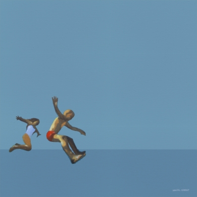 """Young and free""|PinturadeDaniel Gibert| Compra arte en Flecha.es"