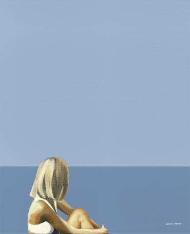 """The big sky""|PinturadeDaniel Gibert| Compra arte en Flecha.es"