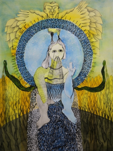 Chorar, elipsis de luz. Segunda fuente.|DibujodeReme Remedios| Compra arte en Flecha.es