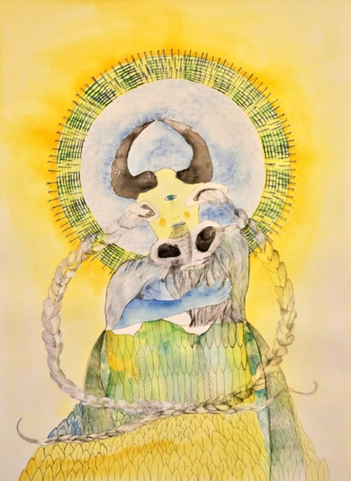 Chorar, Elipsis de luz. Primera fuente.|DibujodeReme Remedios| Compra arte en Flecha.es