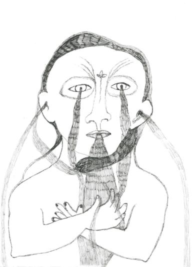 Chorar. Tercera fuente.|DibujodeReme Remedios| Compra arte en Flecha.es