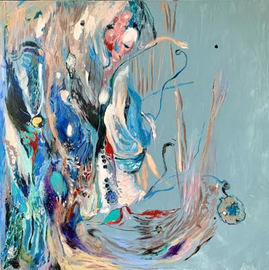 My Mood|PinturadeLika Shkhvatsabaia| Compra arte en Flecha.es