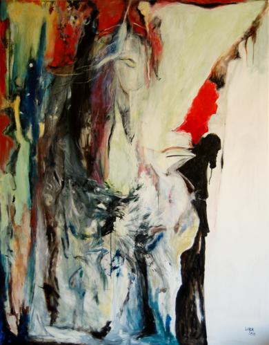 Mi Subconsciente|PinturadeLika Shkhvatsabaia| Compra arte en Flecha.es