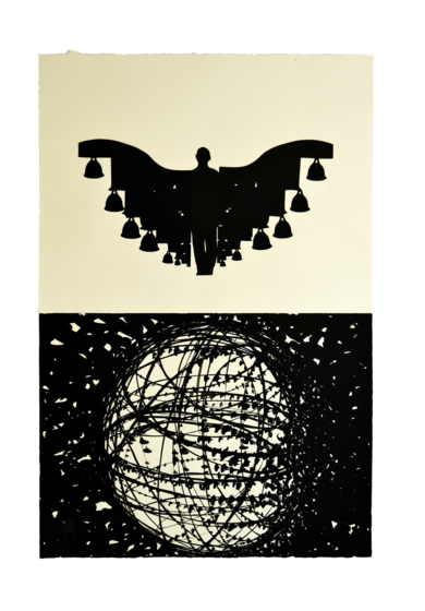 Nepal I|CollagedeJavier Pulido| Compra arte en Flecha.es