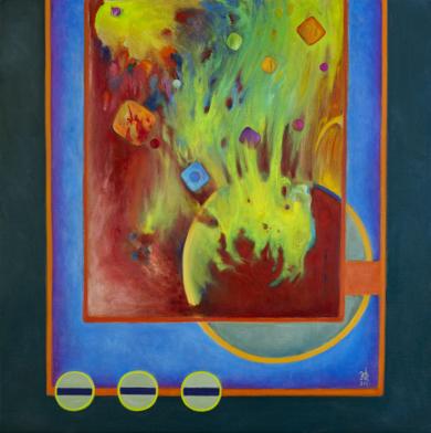 Betelgeuse|PinturadeHelena Revuelta| Compra arte en Flecha.es