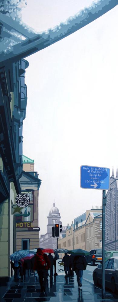"""Espejos líquidos IV. Edimburgo"".|PinturadeROSANA SITCHA| Compra arte en Flecha.es"