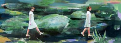 Un paso adelante|PinturadeCarmen Montero| Compra arte en Flecha.es