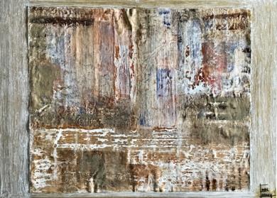 Composición abstracta|PinturadeEnric Correa| Compra arte en Flecha.es
