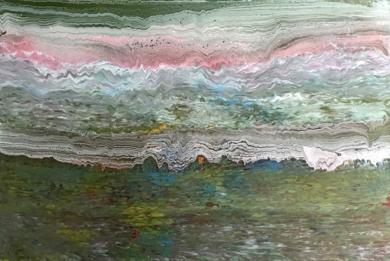 Ola multicolor|PinturadeEnric Correa| Compra arte en Flecha.es