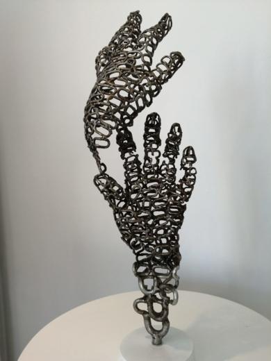 LINKED HANDS|EsculturadePablo Rebollo Pérez| Compra arte en Flecha.es