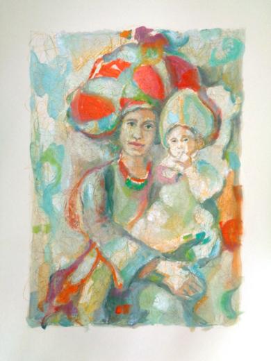 ÓRBITA MATERNA|Obra gráficadeBettina Rebecca Westerheide| Compra arte en Flecha.es