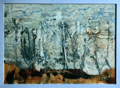Acuario|PinturadeEnric Correa| Compra arte en Flecha.es