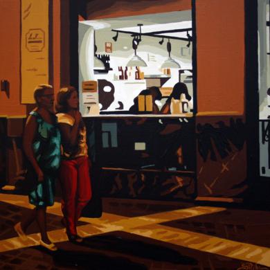 """LA FUENTE II""|PinturadeROSANA SITCHA| Compra arte en Flecha.es"
