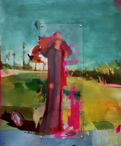 Entre trigales Ii|CollagedeAna Alcaraz| Compra arte en Flecha.es