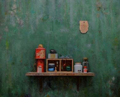 LINTERNA ROJA|PinturadeLUIS    GOMEZ    MACPHERSON| Compra arte en Flecha.es