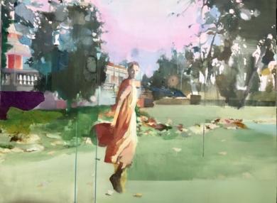 Atardece en el retiro|CollagedeAna Alcaraz| Compra arte en Flecha.es