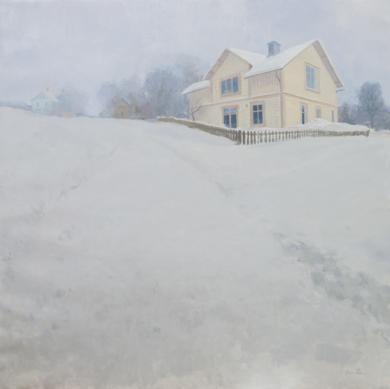 Día de frío y nieve|PinturadeOrrite| Compra arte en Flecha.es