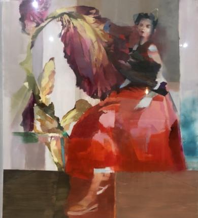 Figura II|CollagedeAna Alcaraz| Compra arte en Flecha.es