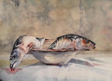 Caballas|PinturadeLuis Imedio| Compra arte en Flecha.es