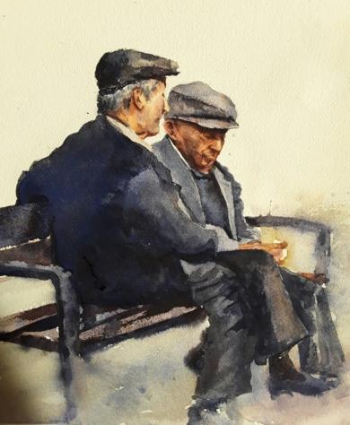 Confidencias|PinturadeLuis Imedio| Compra arte en Flecha.es