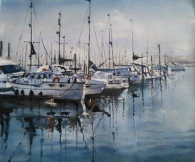 Puerto|PinturadeLuis Imedio| Compra arte en Flecha.es